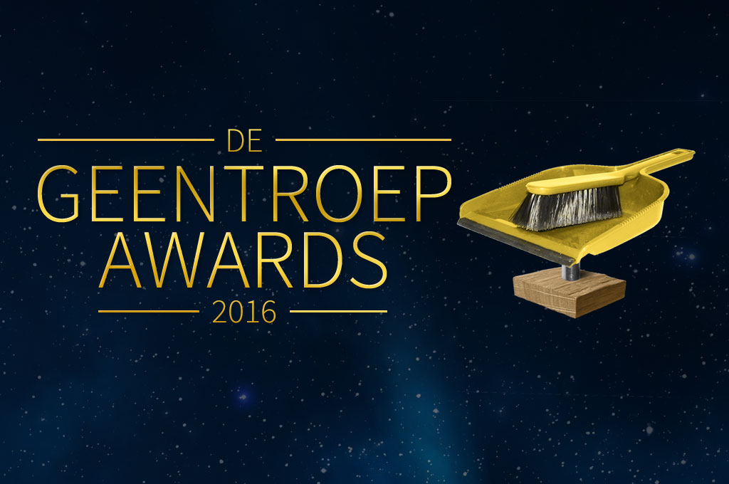 De Geen Troep Awards 2016